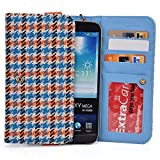 "Kroo Orange Houndstooth Samsung Galaxy J7 Prime, A7 (2017) A9 Pro (2016), A8+, Galaxy S7 Plus 6.0"", S6 edge+ Plus, Galaxy Note 8, Note 3 4 5 Phone Phablet Cases 