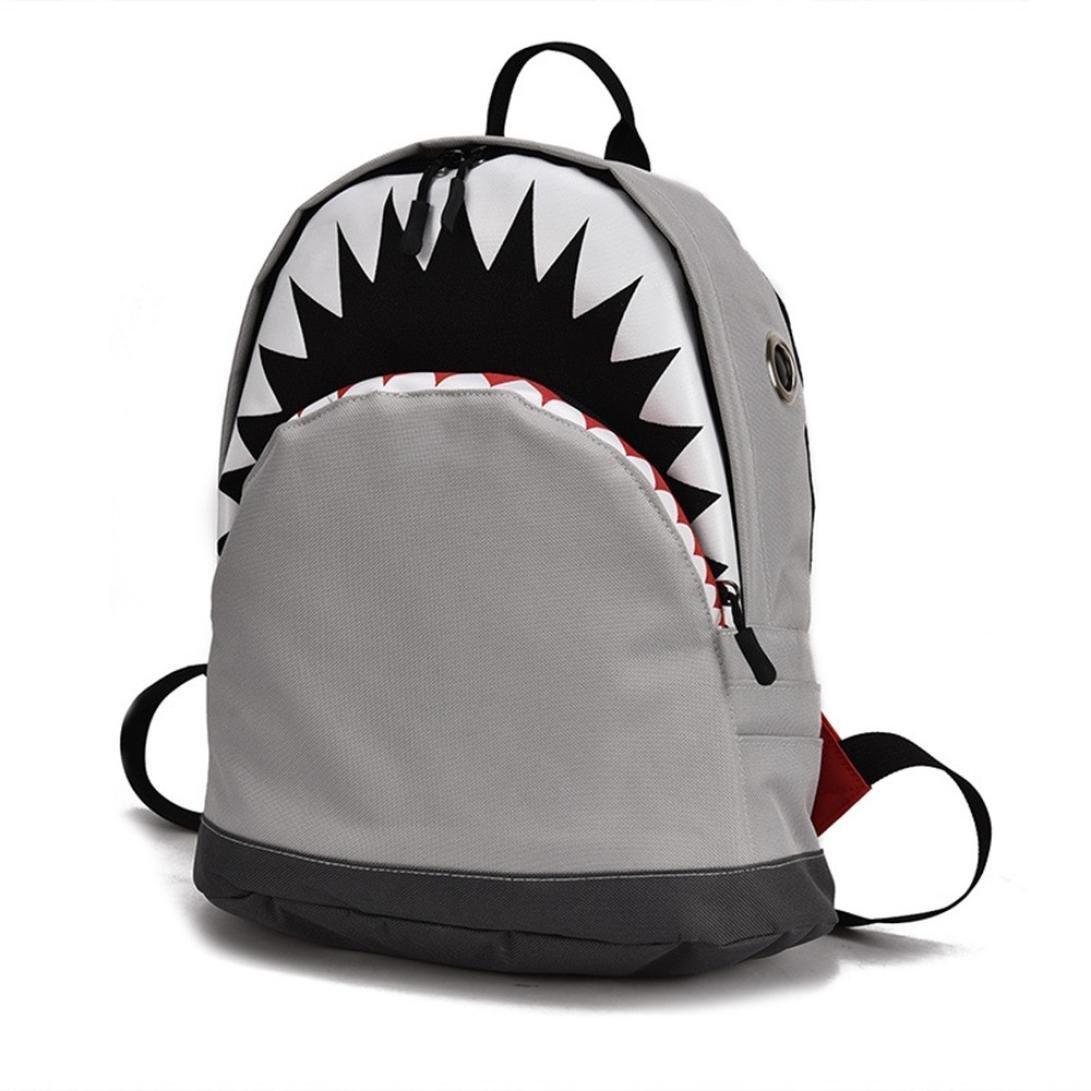 Child Baby Girl& Boy Kids Cartoon Shark Animal Backpack Toddler School Bag Family Hiking Travel Camping Messenger Bags Student School unbalance backpack Stylish simplicity