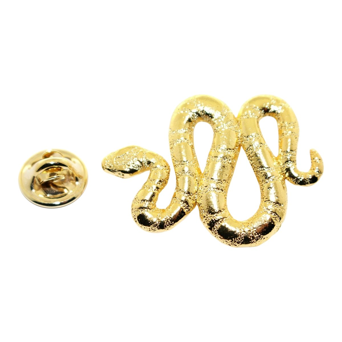 Snake Pin ~ 24K Gold ~ Lapel Pin ~ Sarah's Treats & Treasures