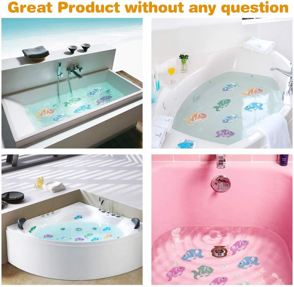 Bathroom Anti-slip Mat Adhesive Bath Shower Stickers Appliques Treads 4 Types