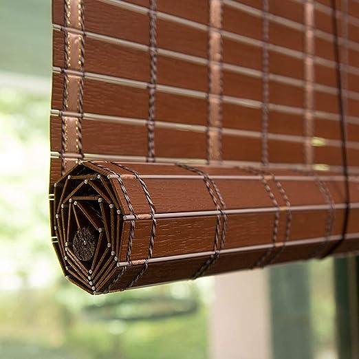 Persiana de bambú Persianas Enrollables para Interiores/Exteriores, Persianas Enrollables para Ventanas con Cenefa, Sombrilla, Patio/Mirador/ Pérgola/Marquesina, 85cm / 105cm / 125cm / 145cm An: Amazon.es: Hogar