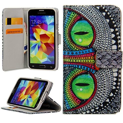 Handy Lux® Schutz Hülle Tasche Kartenfächer Flip Case Etui Cover Involto Motiv Design Hülle BookStyle für Huawei P20 Pro…