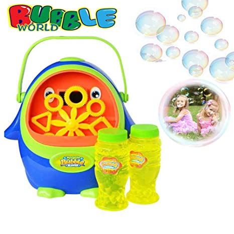 MOGOI Soplador de Burbujas, automático, Duradero, para niños, con ...