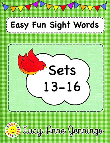 Easy Fun Sight Words, Sets 13-16 -