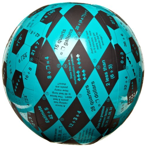 American Educational Vinyl Clever Catch Division Ball, 24