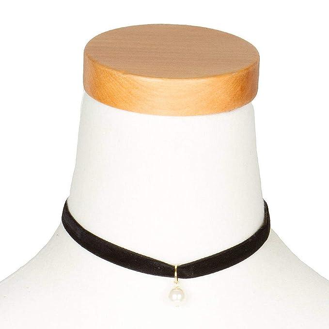 collier ras de cou noir claire's