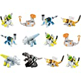 Dinotrux Reptool Rollers (12 Pack) Revvit Click-Clack Otto Wrenches Towaconstrictor Ace Wrenchtools & Scraptor Rolling Vehicles great CAKE TOPPERS