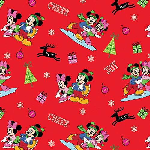 Springs Creative 64175-D650715 Disney-Mickey and Friends 43/44'' Wide 100% Cotton, 15 yd