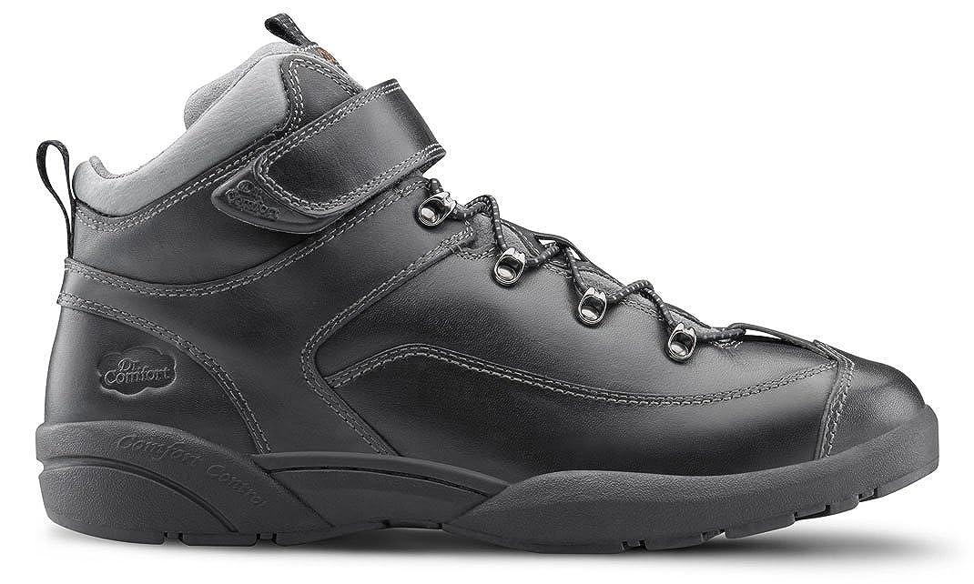 Dr Comfort Mens Ranger Black Diabetic Hiking Boots