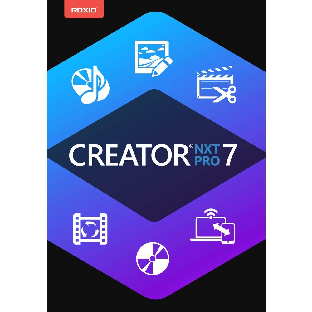 Creator NXT 7 Pro - Complete CD/DVD Burning and Creativity Suite for PC [PC Download] by Roxio