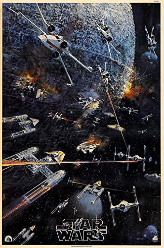 """Star Wars  Movie Poster 24"""" x 36"""" - Guaranteed Certified Pos"""