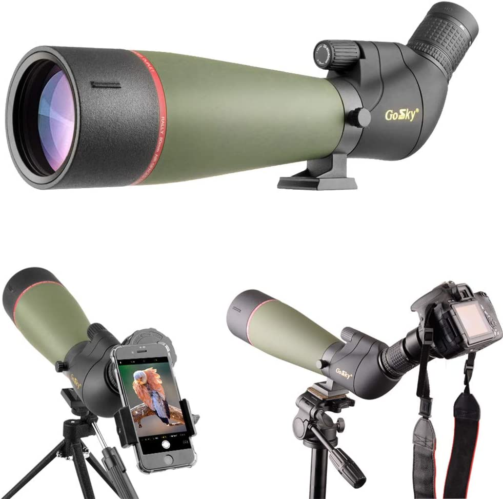 Gosky 20-60X80MM Spotting Scope