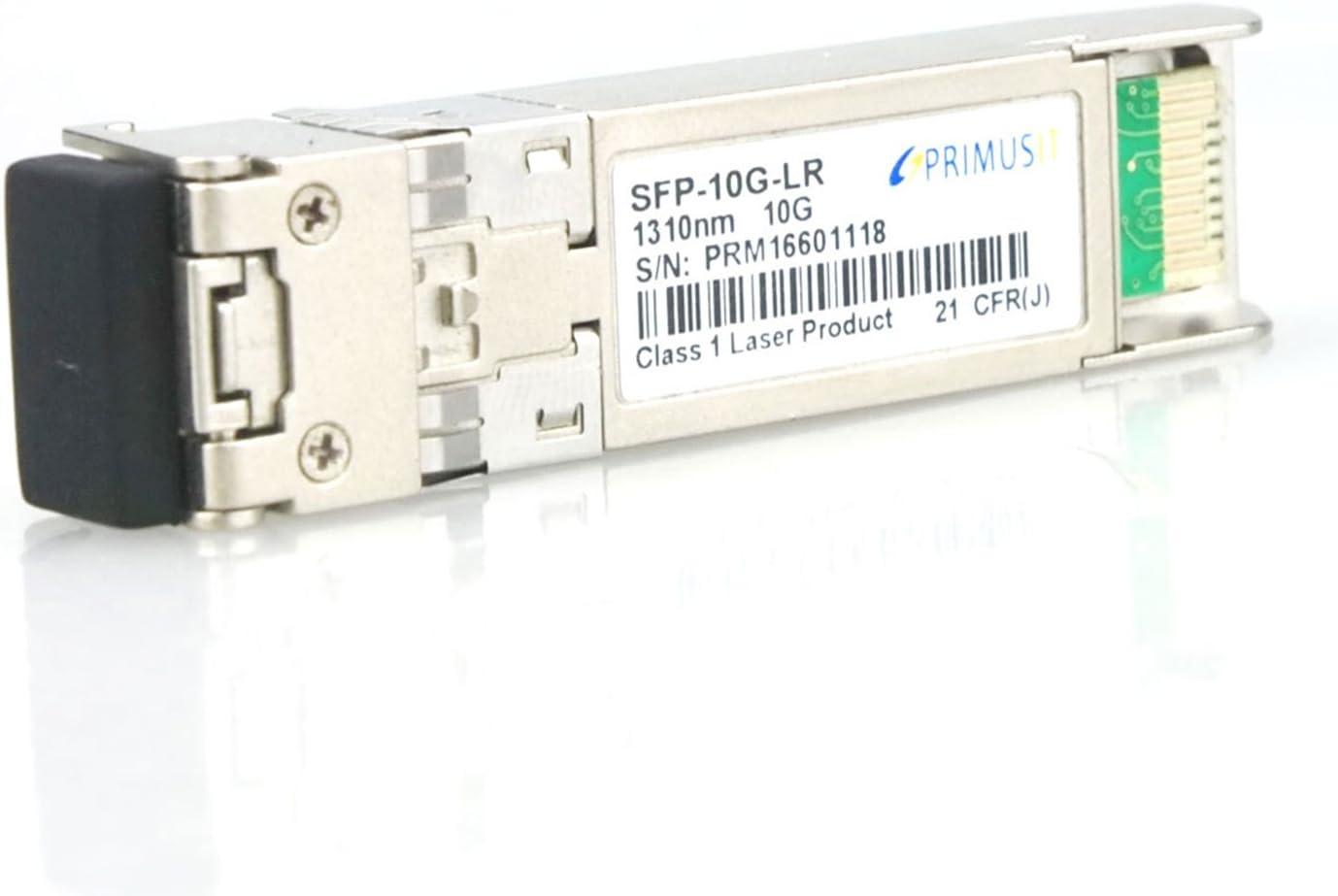 Transceiver 850nm 300m with Digital Diagnostic Function INVAXON 1 Pack 100/% Cisco Compatible SFP-10G-SR 10G-Base SFP