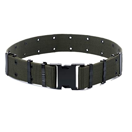 M-Tac GI Army Style Mens Pistol Tactical Duty Belt Military Canvas Plastic  Buckle ( bbc55d41369