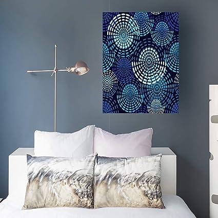 Amazon.com: Canvas Print Wall Art Polka Dot Dotted Circle ...