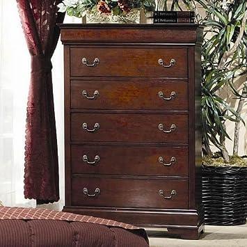Coaster Fine Furniture 200435 Louis Philippe Style Storage Chest  Cherry. Amazon com  Coaster Fine Furniture 200435 Louis Philippe Style