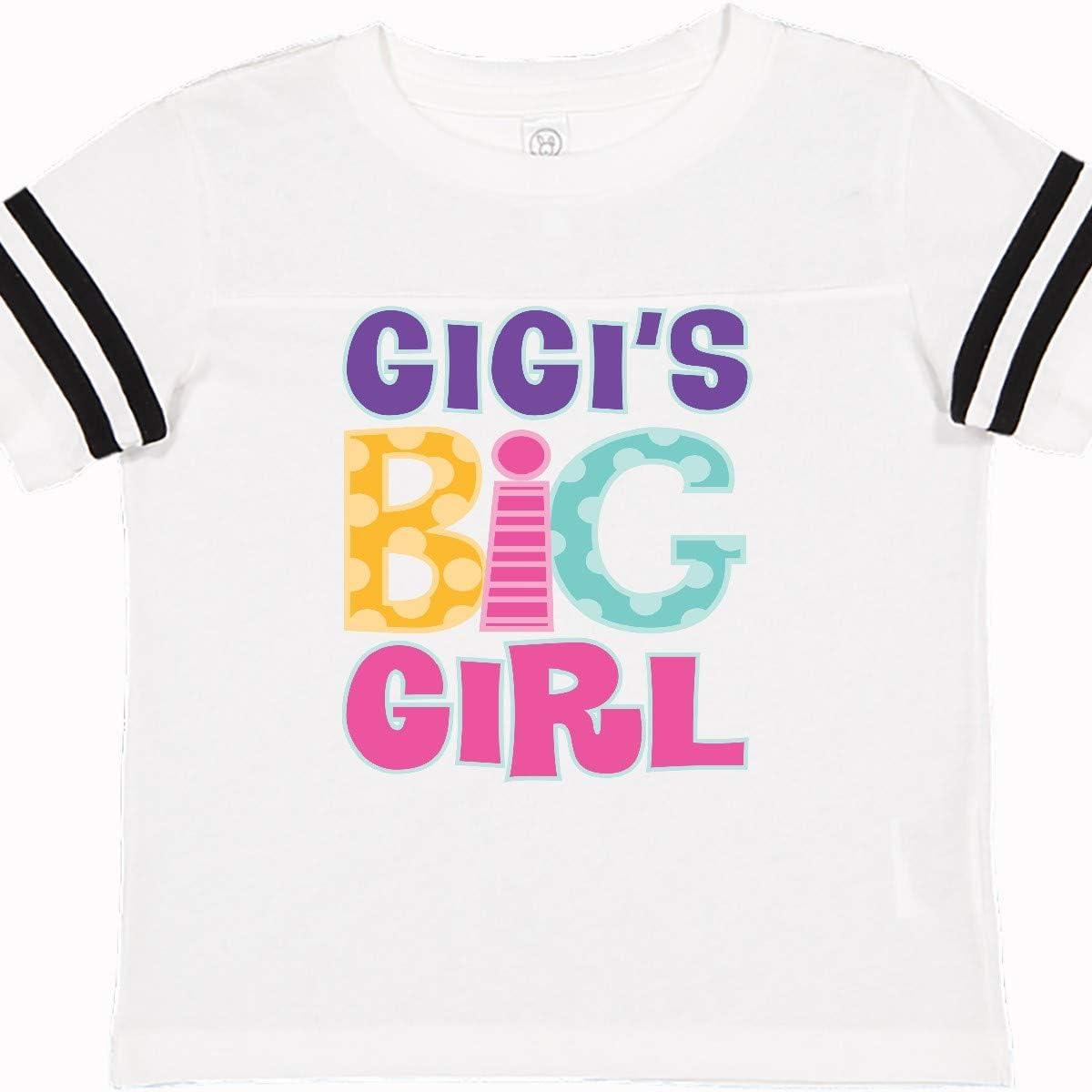 inktastic Gigis Big Girl Granddaughter Toddler T-Shirt