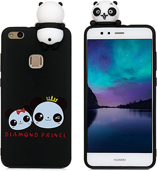 Tophung Huawei P10 Lite Funda Cartoon, 3D Soft Back Cover Lovely ...