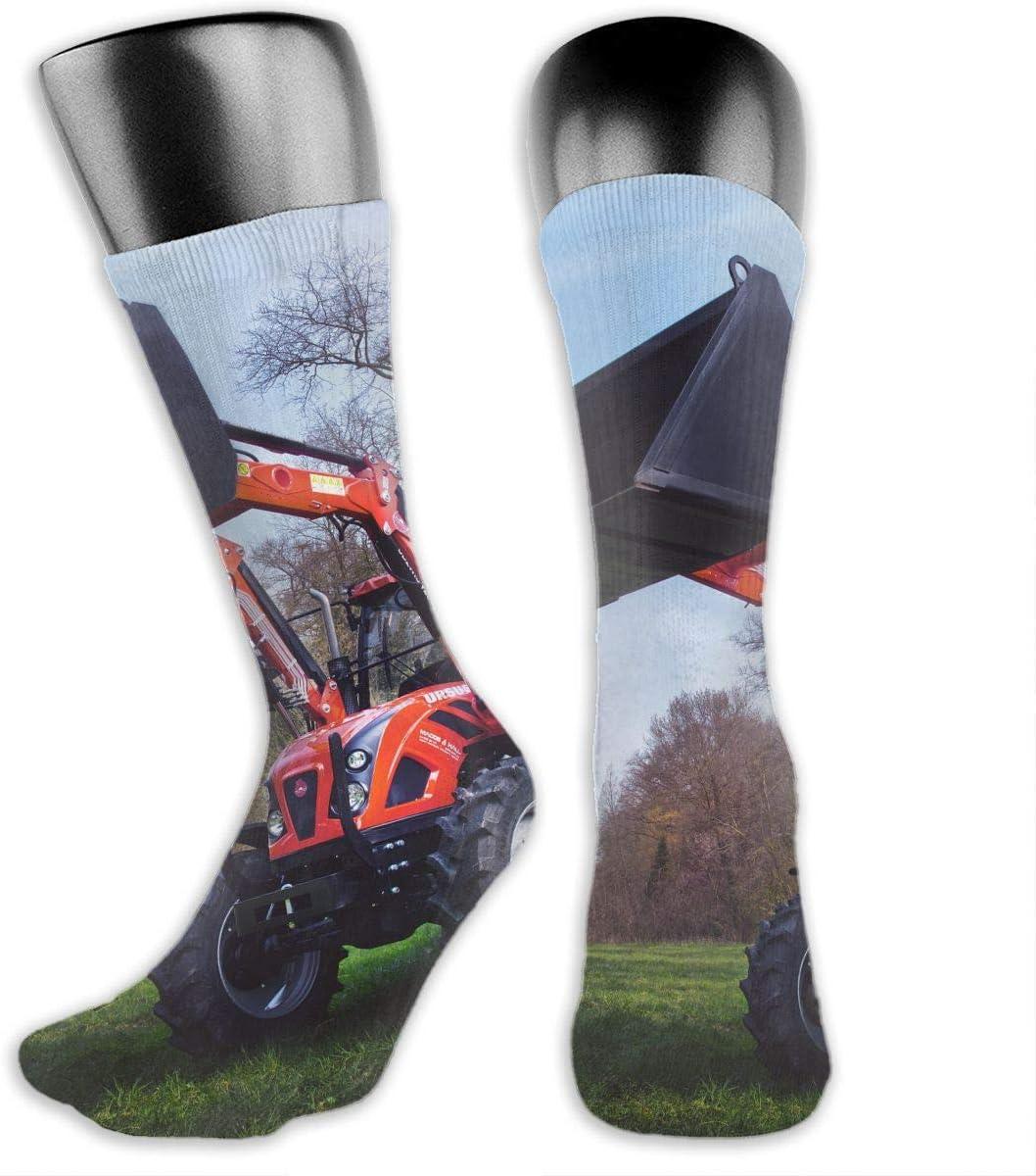 OLGCZM Tractor Farm Machine Men Womens Thin High Ankle Casual Socks Fit Outdoor Hiking Trail