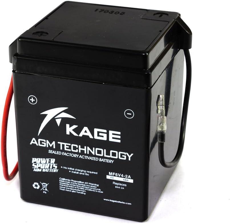 Gel Batterie Kage 6n4 2a 4 6n4 2a 7 4ah Für Aprilia H O N D A S U Z U K I Y A M A H A Auto