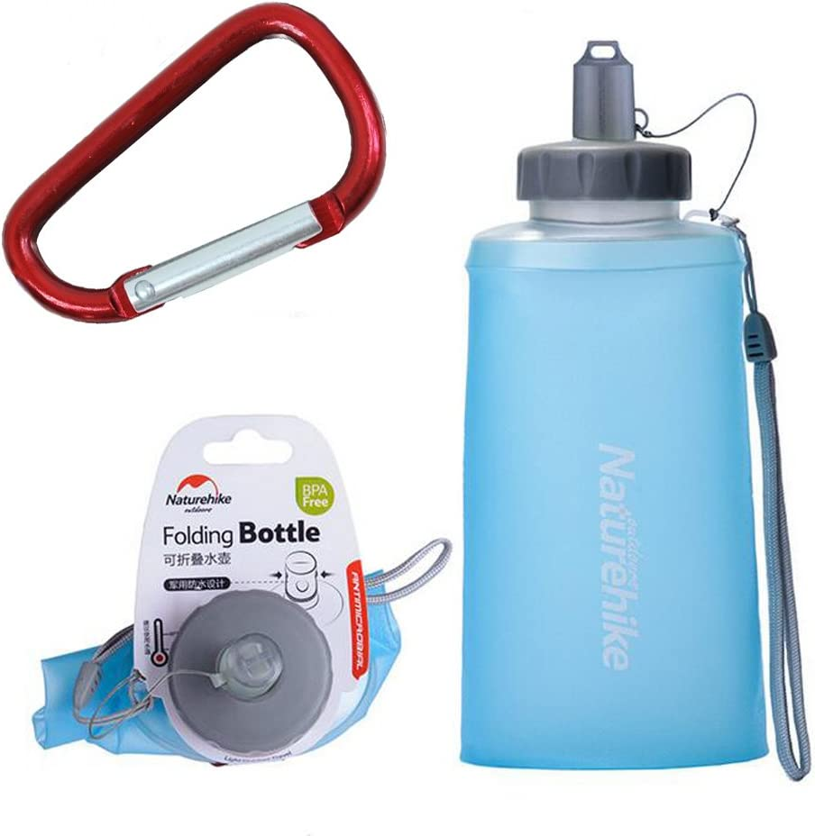 Cups Bag Folding Plastic Collapsible Outdoor Sport Portable Water Bottle   /_