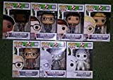 GHOSTBUSTERS 2016 Funko POP! Vinyl - Complete Set of 7 Figures - IN STOCK