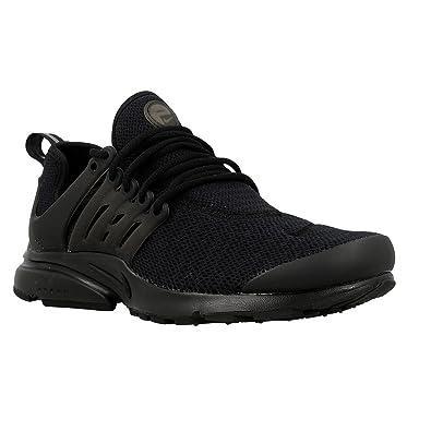 Nike Womens W Air Presto Black/White Nylon Size 7