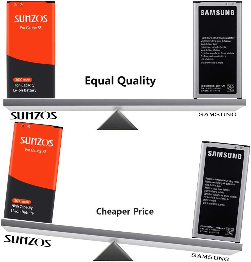 I9600, G900F, G900V ,G900P T-Mobile G900A AT&T Galaxy S5 Battery 3 ...
