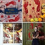 Gretess Halloween Window Door Decoration Set - 2
