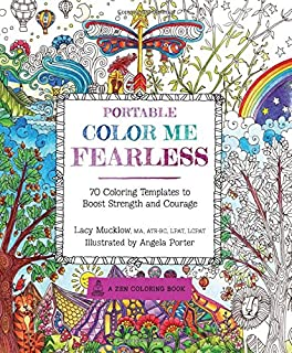 Color Me Calm 100 Coloring Templates For Meditation And Detail Of Pamela Smart S Magnificent Moose From Her Your Way