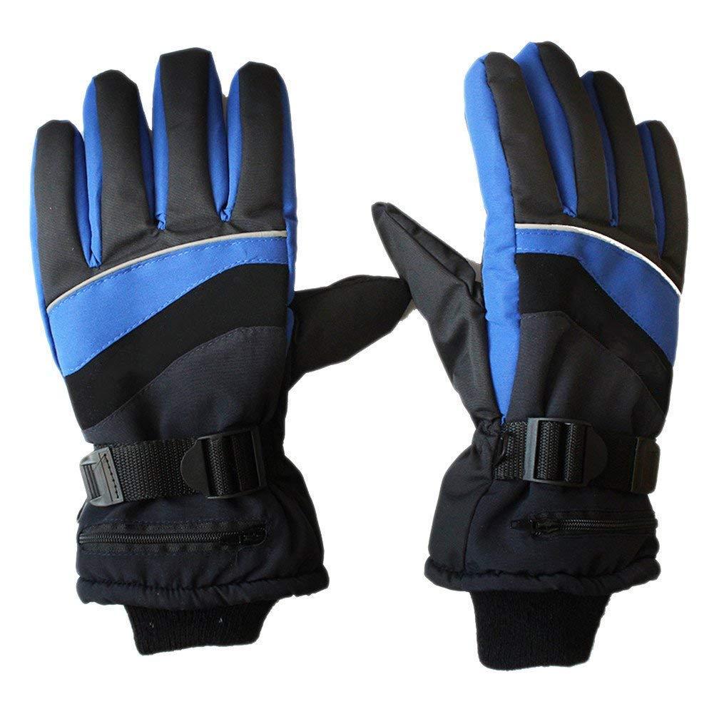 DAN&DLAM Beheizte Handschuhe, Sporthandschuhe Winter Sporthandschuhe Handschuhe, Wiederaufladbare Beheizbare Handschuhe mit Nacht Reflektierende für Outdoor Biking Wandern Camping Snowboarden 7f61e9