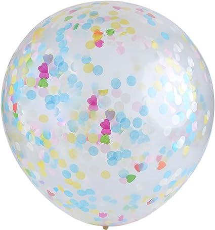 FunPa Clear Balloon, BalóN De LáTex Globo Redondo Transparente ...