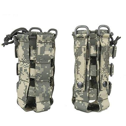 c04b6811e614 Amazon.com : Saking Sports Water Bottles Pouch Bag Tactical Molle ...