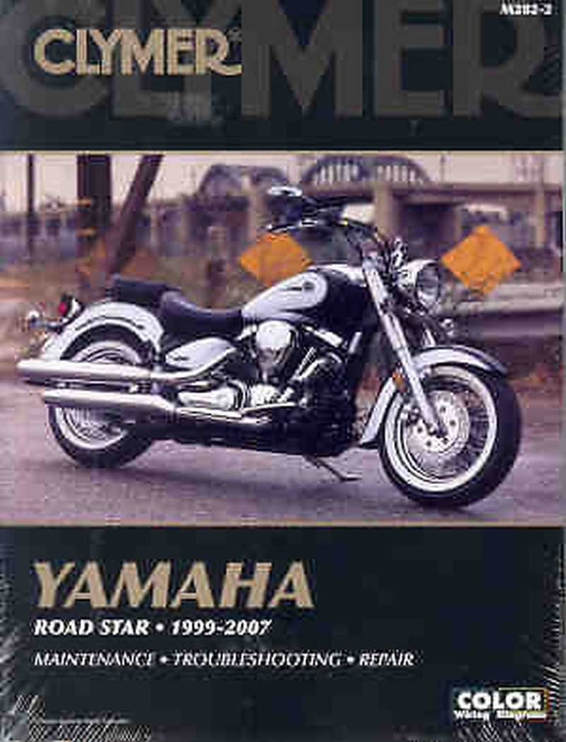 Clymer Yamaha Road Star (1999-2007) (53047) by Clymer (Image #1)