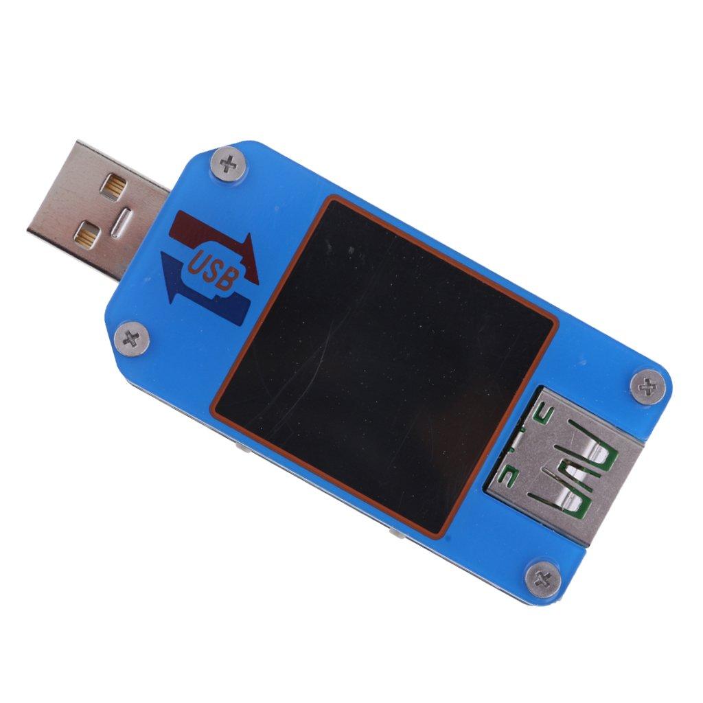 Sharplace 1.44 inch USB UM25C 2.0 Type-C LCD Voltmè tre Ampè remè tre Voltage Current Meter