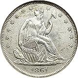 1861 O Liberty Seated Half Dollars Half Dollar AG0 NGC