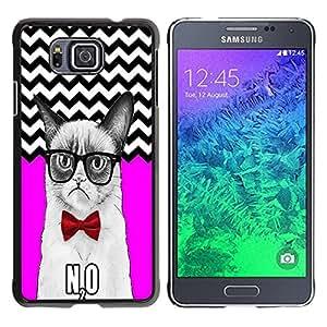 Dragon Case - FOR Samsung ALPHA G850 - Let the more loving - Caja protectora de pl??stico duro de la cubierta Dise?¡Ào Slim Fit