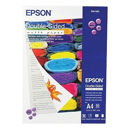 Epson Matte Paper - Papel doble cara
