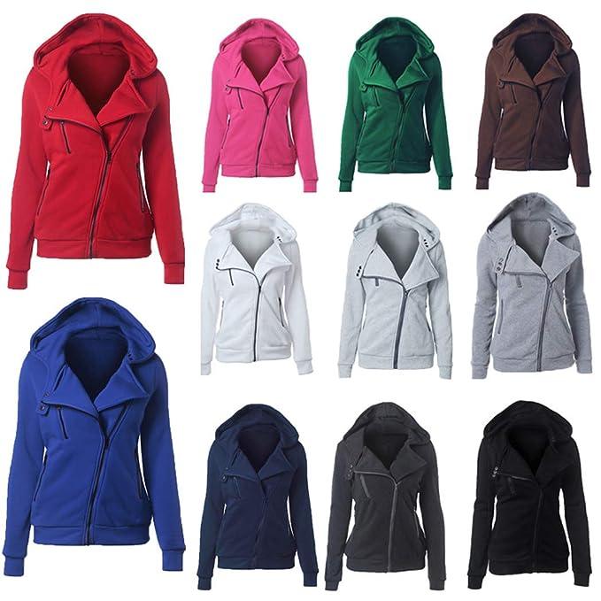 Amazon.com: Gatied - Chaqueta térmica larga con capucha y ...