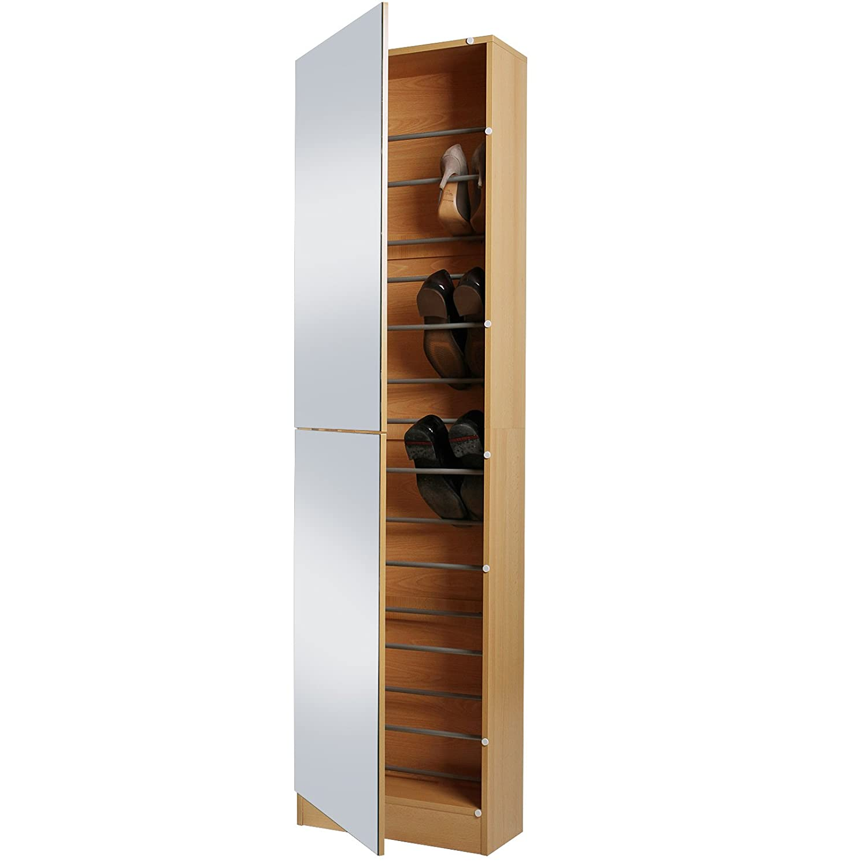 Miadomodo scarpiera armadio mobile per scarpe anta unica con ...