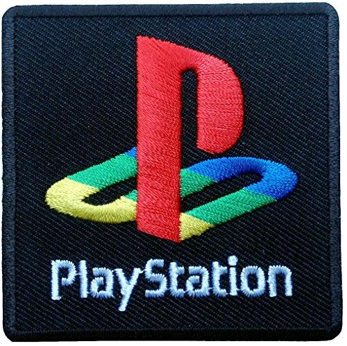 Playstation PS2 Logo Jacket Old School Games Backpack Embroi