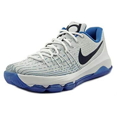cheap for discount ad710 cd38c Nike Mens Kd 8 Sneaker, 8.5, White