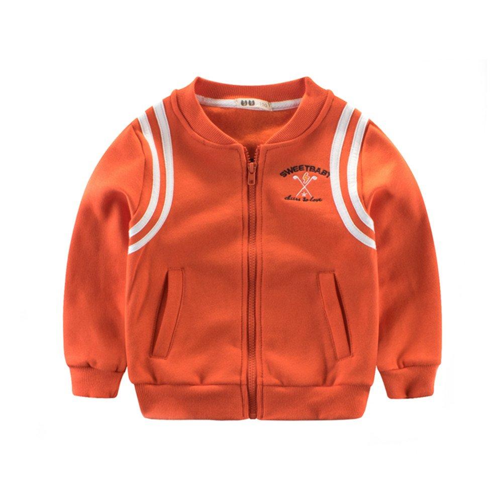 Mrsrui Boy Coat Thin Cotton Long Sleeve Jackets Striped Baby Boys Coats