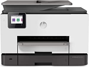 HP OfficeJet Pro 9025 All-in-One Wireless Printer Single-Pass (Automatic) Document Feeder and Two Paper Trays Smart Home Office Productivity (1MR66A)