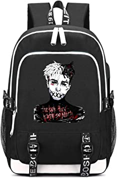 Rapper Xxxtentacion 3D Print School Bags Students Bags Women Men Daily Backpack