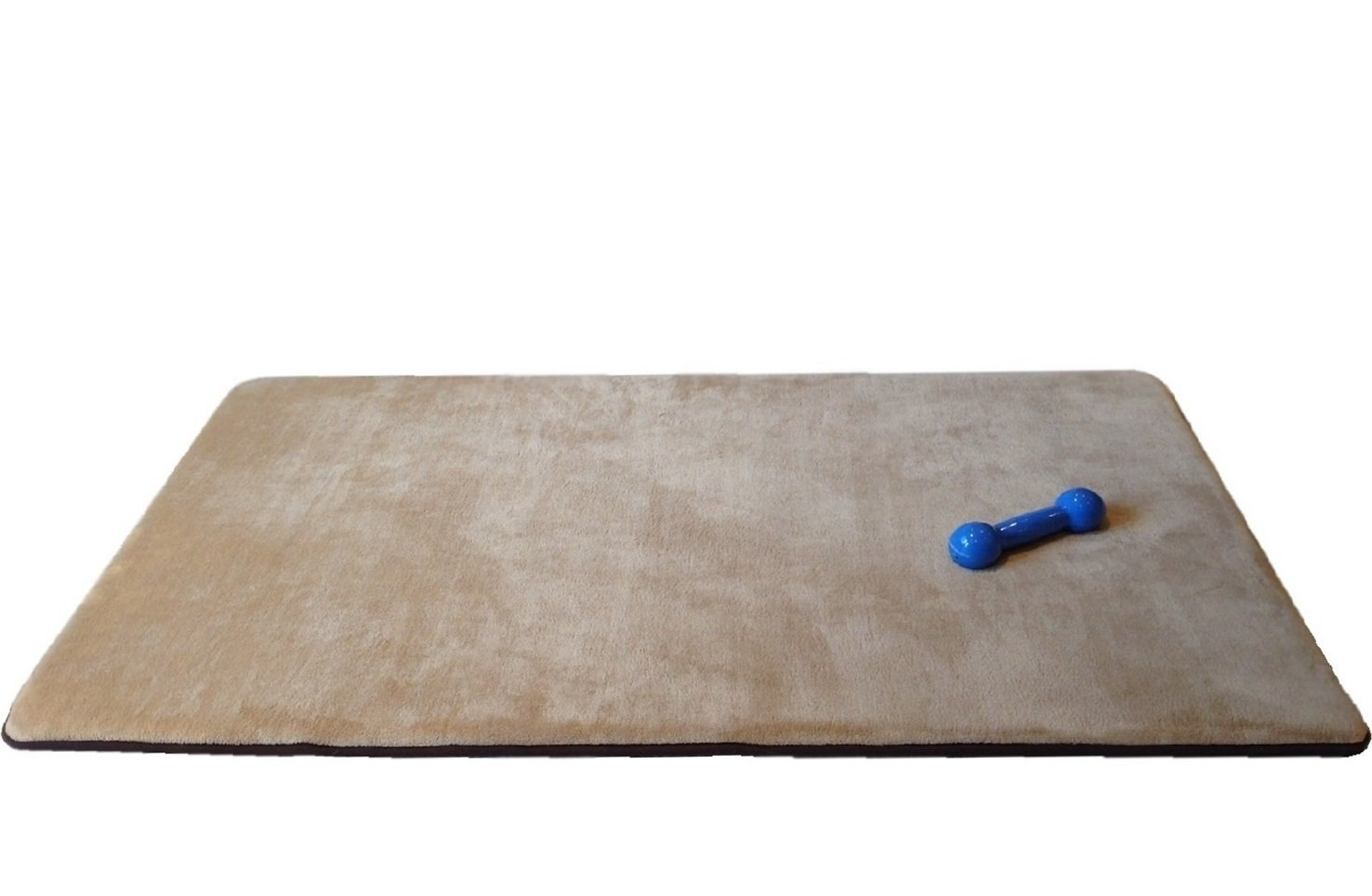 """Maxcare 48""""X30"""" Multi-Purpose Extra Large Luxury Cooling Memory Foam Velour Fleece Rug Mat for Bathroom/Kitchen/Yoga/Fitness/Playground/Travel or Pet Bed"""