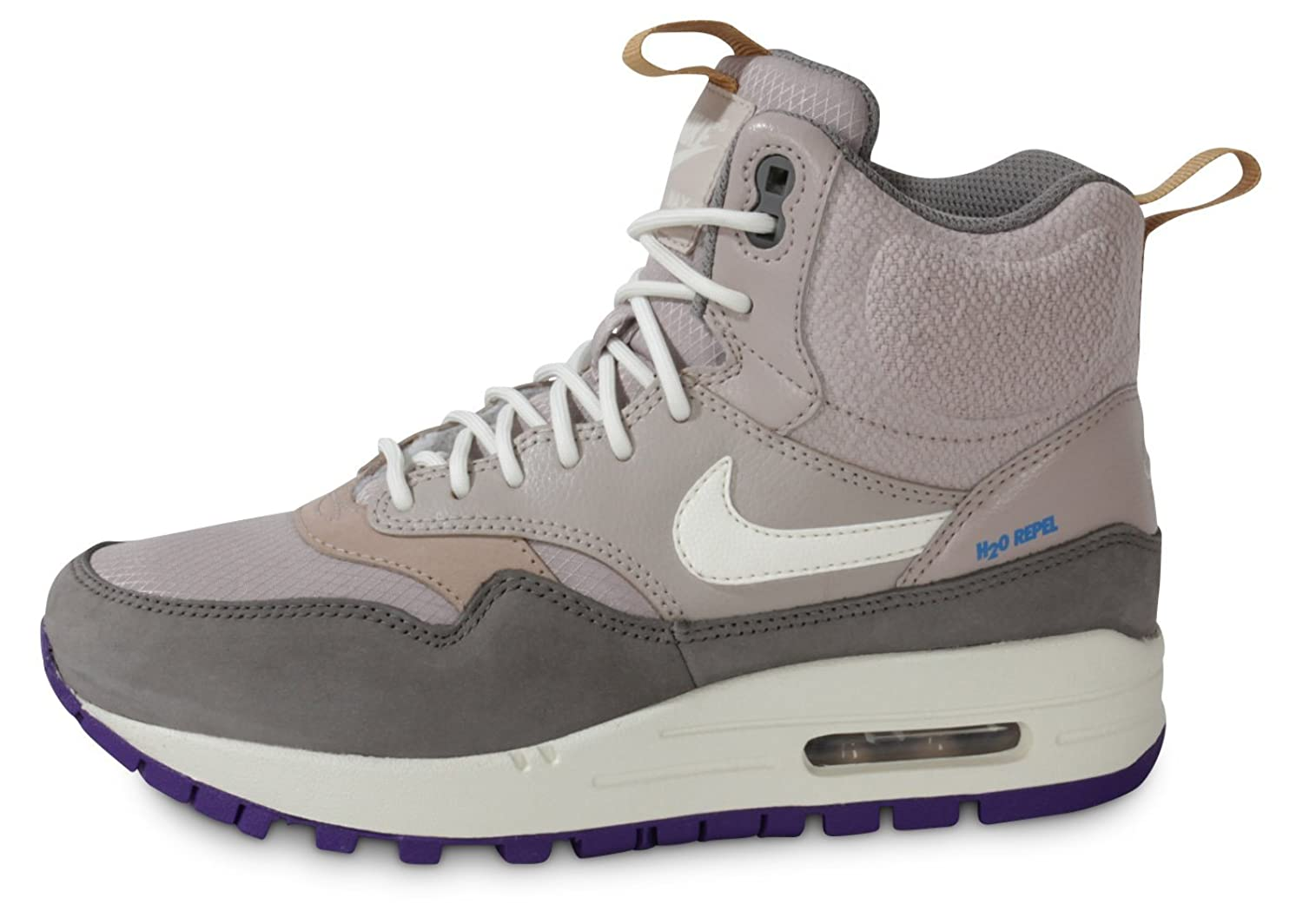 Amazoncom Nike WMNS AIR MAX 1 MID SNKRBT WOMENS Sneakers 685267002 Basketball