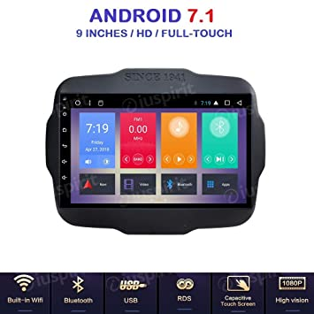 Android 7.1 allwinner T3 GPS USB WiFi Dab + Caja mirrorlink Bluetooth Radio de Coche navegador