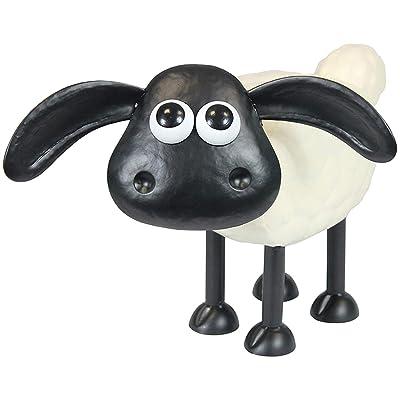 A. Perry Shaun The Sheep & Cousin Timmy Garden Sculptures - Steel Lawn Ornaments Garden Outdoor Decor Wallace & Gromit - Timmy : Garden & Outdoor