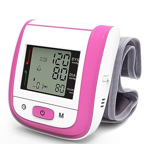Wysgvazgv Tensiómetro de Muñeca, Electrónico Tensiómetro Digital de Muñeca Totalmente Automático Alta Precisión Presión Arterial